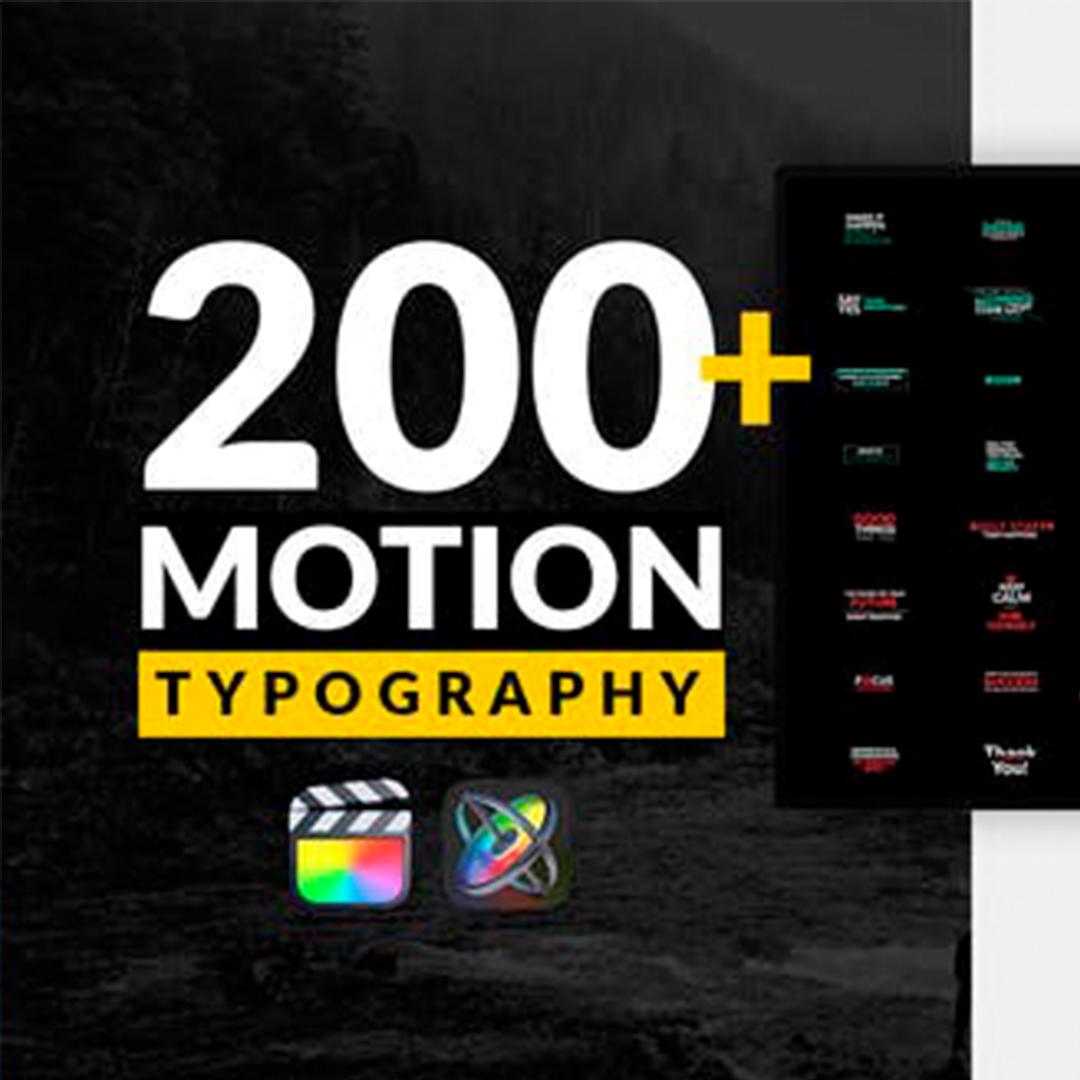 Motion Typography For FCPX