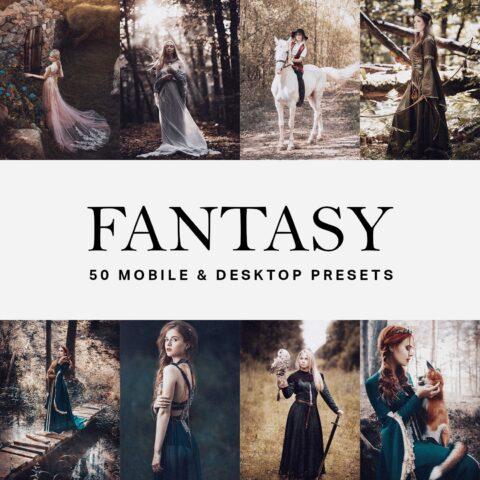 50 Fantasy Lightroom Presets & LUTs [DNG, XMP, LUT]