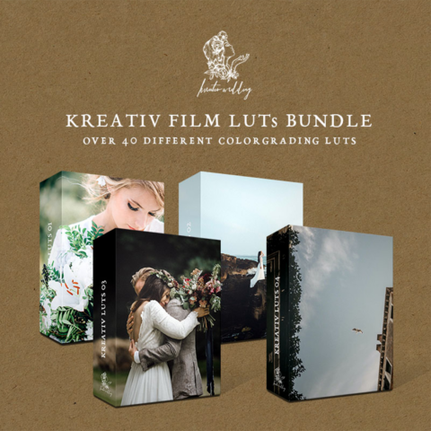 Kreativ Wedding LUTs Collection vol.1-4