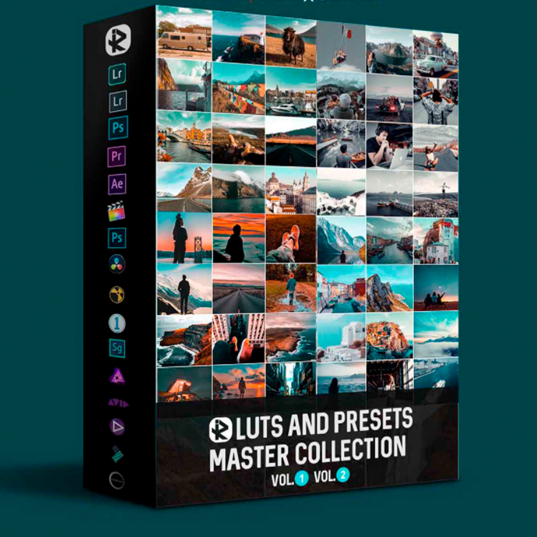 Riyazmn – LUTs And Presets Master Collection