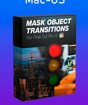 Mask Object Transitions Pack for Final Cut Pro